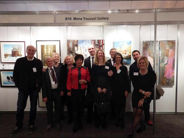 Mona Youssef Gallery and Memories of Chester Art Fair, UK, 2015