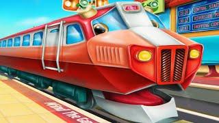 МУЛЬТИКИ ПРО ПАРОВОЗИКИ ДЛЯ ДЕТЕЙ Мультик анимашка про поезда для детей Прогулка на поезде