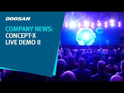 Doosan Infracore Concept-X Live Demo II