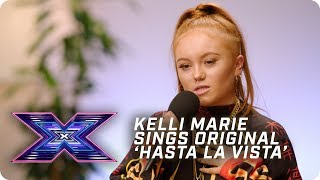 Kelli-Marie sings original 'Hasta La Vista' in FIRE audition | X Factor: The Band | Auditions