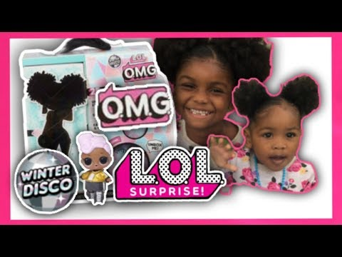 OMG Winter Disco Series LOL Surprise Big Sister Fashion Doll