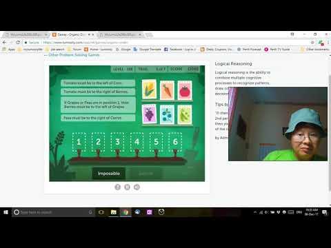 Let's Play - Lumosity - Organic Order - 32830 Score - Brain Games 2017