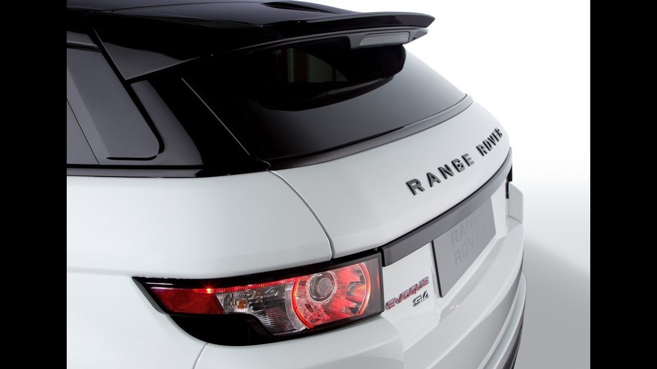 Range Rover Evoque Black Design Pack YouTube