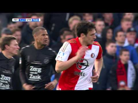 Samenvatting Feyenoord - FC Utrecht 2-1, KNVB bekerfinale 2015/16