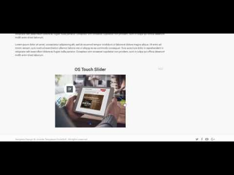 OS Touch Slider - joomla responsive slider