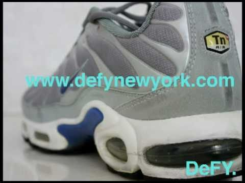big sale 261a1 ca7ec Nike Air Max Plus Original 604133 042 Neutral Grey Royal Blue Review 1999