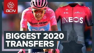 The Most Important Pro Cycling Rider Transfers For 2020 | GCN's Cycling Race News Show