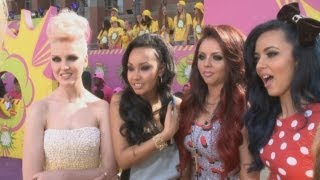 Little Mix on One Direction: Girls hit the orange carpet at the Nickelodeon Kids