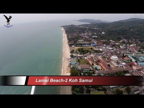 Lamai Beach 2 / Koh Samui / overflown with my drone