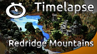 Minecraft Timelapse - RPG map - Redrige Mountains (WoW) [Full HD 1080p]