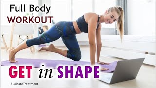 Simple Exercises to Stay Fit in Quarantine   No Equipment Needed! 5-Minute Treatment