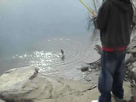 Fishing at lake alan henry youtube for Henrys lake fishing