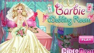 NEW Игры для детей—Disney Принцесса Барби невеста комната—Мультик для девочек