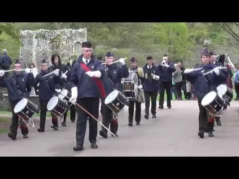 Boys Brigade Band Bury St Edmunds - St George's Day 2015