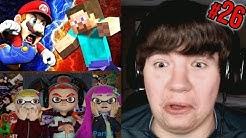 Reaction Monday #26 - Mario VS Steve + Dank Memes + The Dimension Hoppers