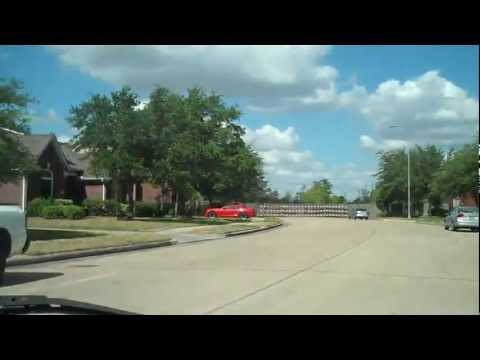 City of Clear Lake, Texas Suburb of Houston Houses, Trees and Streets