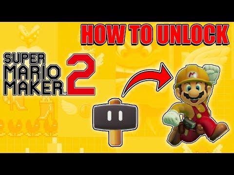 Super Mario Maker 2- How To Unlock SUPER HAMMER Power-Up