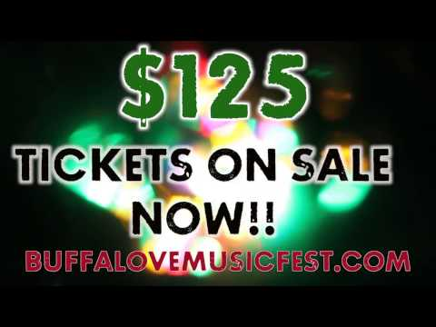 2017 BUFFALOVE MUSIC FESTIVAL Official Lineup
