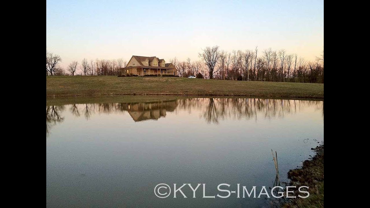 Kentucky Horse Farm Homes And Land For Sale Pond