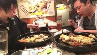 早大食いチャレンジ→博多劇場東陽町店で餃子100個食べた。with自由人さん thumbnail