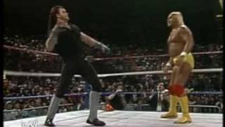 WWF - Hulk Hogan vs Undertaker (1/2)