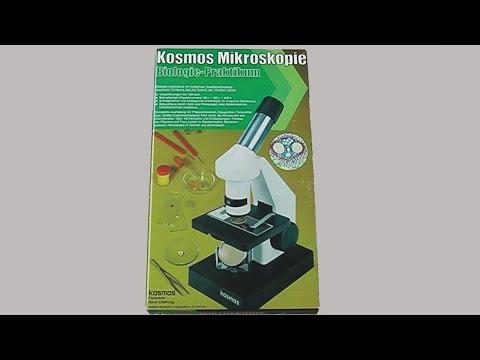 Kosmos mikroskopie biologie praktikum experimentierkasten