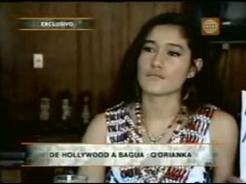 Q'ORIANKA KILCHER EN EL PERU POR CASO BAGUA 2009