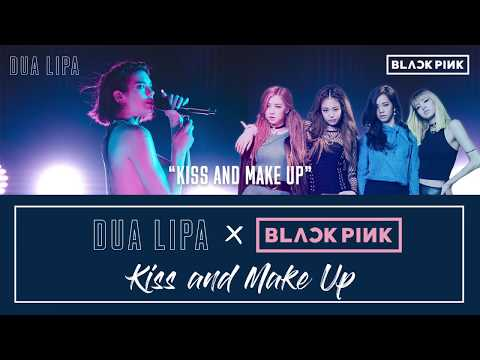 Dua Lipa X BLACKPINK - Kiss And Make Up Lyric / Karaoke Video | 6CAST