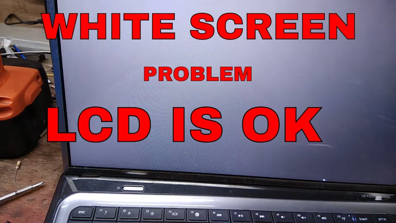 लैपटॉप रिपेयरिंग सीखे | hp pavilion g6 laptop white screen problem