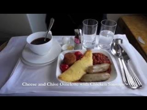 Emirates Airbus A380 Melbourne to Auckland Business Class
