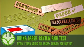 China K40 laser review and test