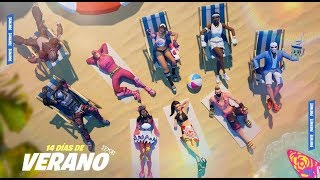 FREE GIFT EVENT * 14 DAYS OF SUMMER * IN FORTNITE AND PROMOTION OF CHANNELS