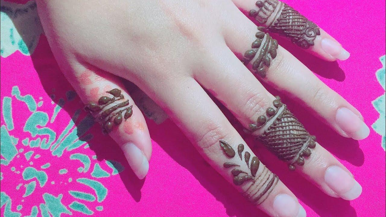 Mehndi Henna Care : Easy diy mehndi henna design on fingerssimple finger