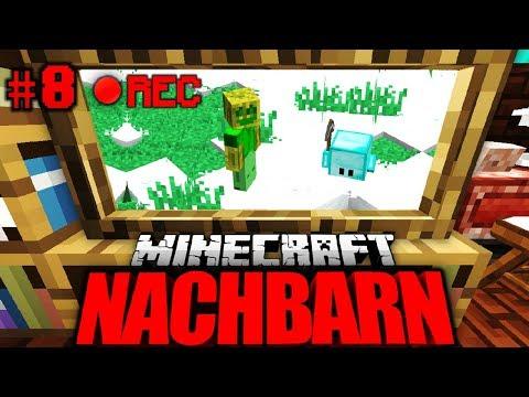 ER hat MICH AUF VIDEO?! - Minecraft Nachbarn #008 [Deutsch/HD]