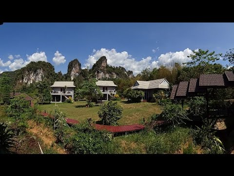Parrot Bebop drone video from Khao Sok Royal Cliff Resort & Spa Thailand