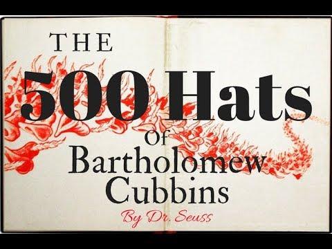 ✯✯✯The 500 Hats Of Bartholomew Cubbins✯✯✯
