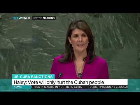 US once again abandoned in the UN over Cuba sanctions