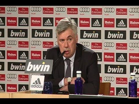 Ancelotti, nouvel entraîneur du Real Madrid, Zidane assistant