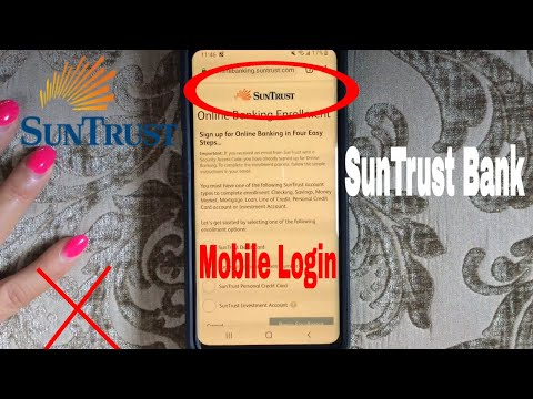 ✅  How To Register Log In Find Password Account SunTrust Mobile Website 🔴
