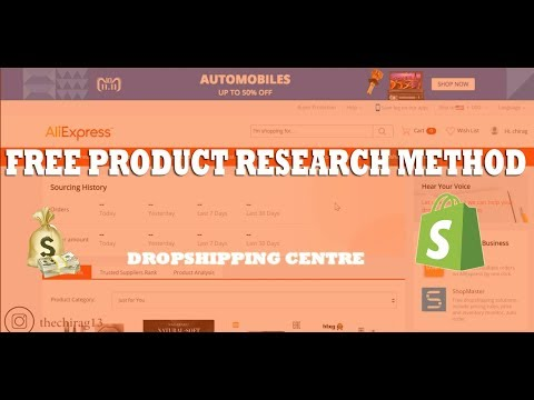 Most Reliable Product Research Method | Aliexpress Dropshipping