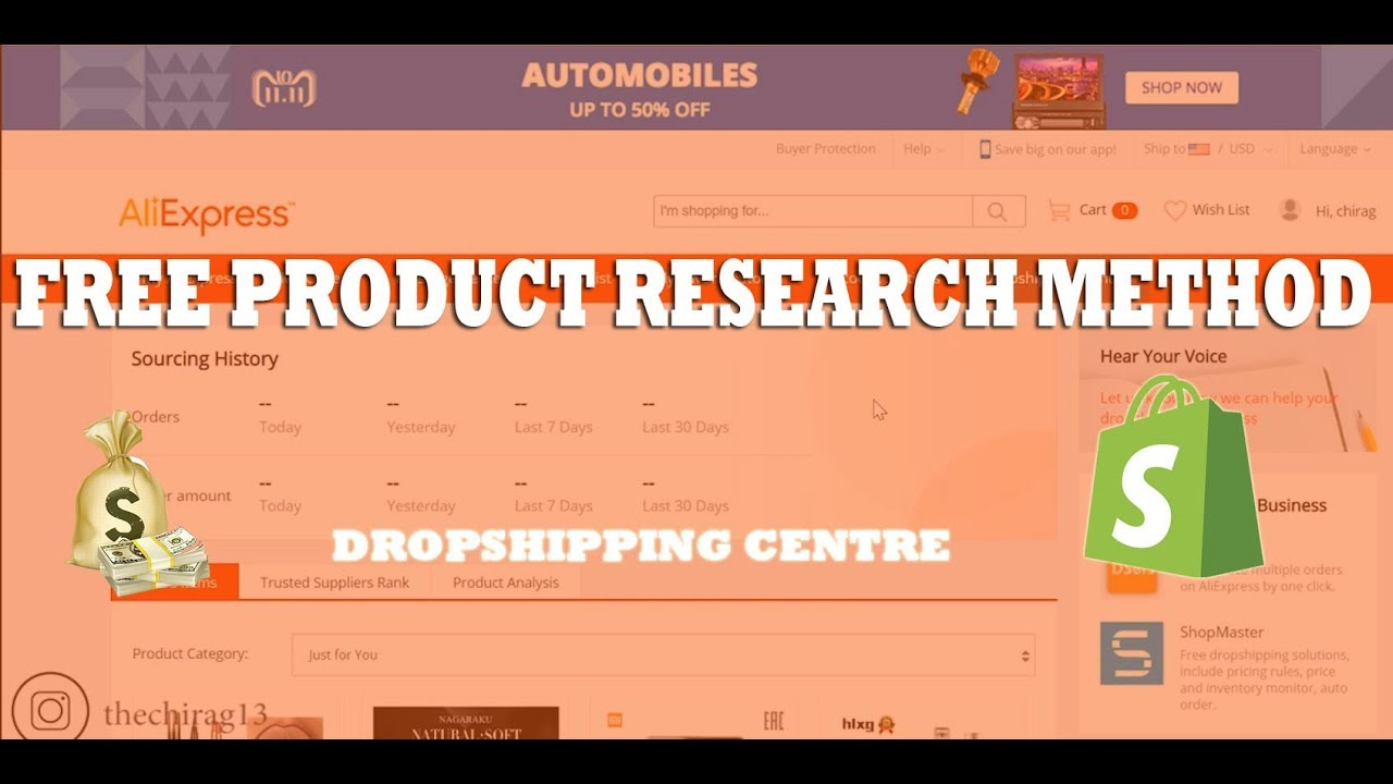 Most Reliable Product Research Method | Aliexpress Dropshipping Centre