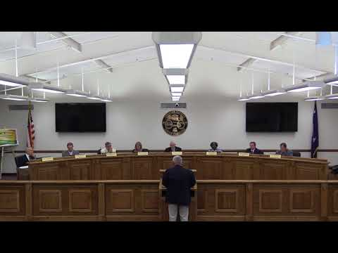 Chester County Council Meeting 9-18-2017