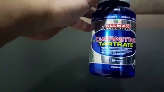 All Max Nutrition L Carnitine - Supplement Review