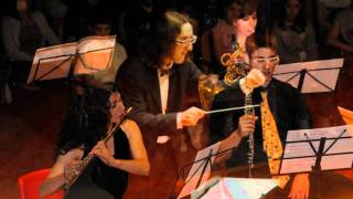 Jean Françaix - Neuf Pièces Caractéristiques, I Presto. Ensemble Zero.