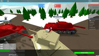 Roblox Tankery:Chariateer and Challanger