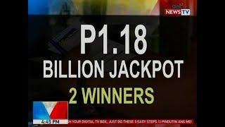BP: Mahigit P1.18B jackpot sa 6/58 Ultra Lotto, napanalunan ng 2 taga-probinsya