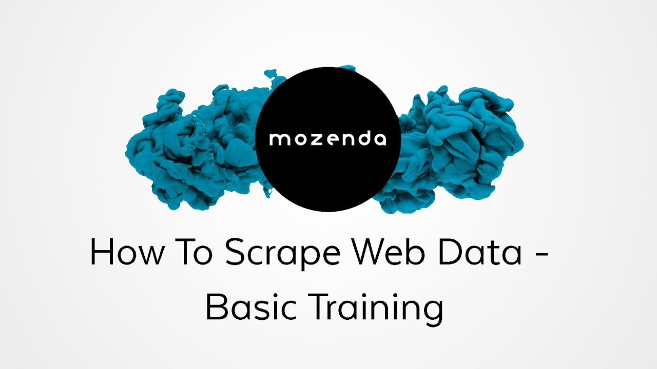 How To Scrape Web Data- The Basics (Webinar)