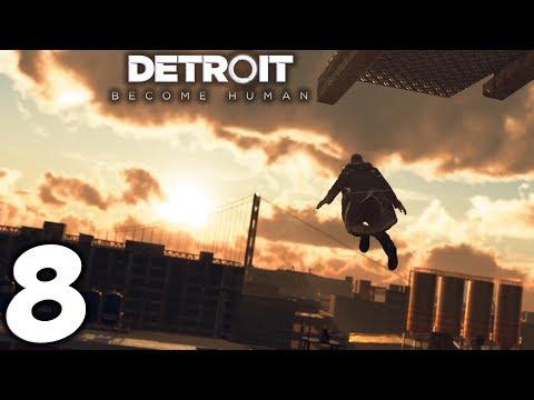 Detroit: Become Human. Прохождение. Часть 8 (Хоррор на корабле. Иерихон)
