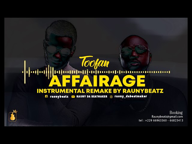 Toofan - Affairage(INTRUMENTAL Remake by Rauny Beatz)