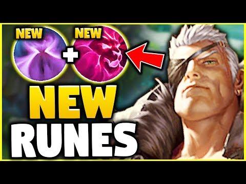 WTF? THESE NEW RUNES MAKE GAREN UNKITEABLE! GAREN IS GOD-TIER NOW! - League of Legends